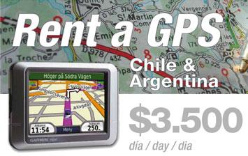 Rent a GPS por $3.500 diarios