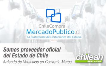 Proveedor oficial Chilecompra/MercadoPúblico en Convenio Marco